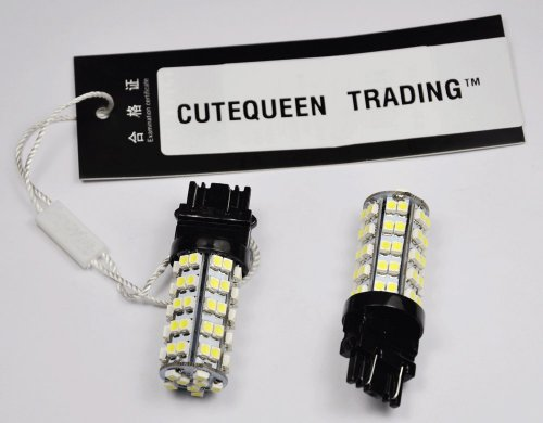 Cutequeen Trading Led White 3528 68Smd 68-Smd 3157 3457 3057 4157 Led Turn Signal Lights