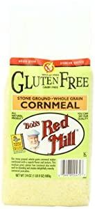 Bob's Red Mill Gluten Free Cornmeal, 24-Ounce Packages (Pack of 4)