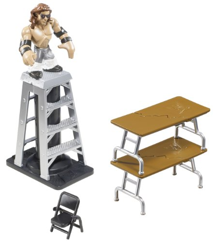 Buy Low Price Mattel WWE Rumblers John Morrison Figure with Ladder Match Playset (B004CRTZEY)
