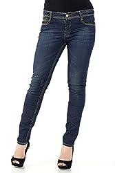Kazo Women's Slim Jeans (106418NAVY34)