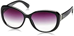 UCB Gradient Oval Women's Sunglasses (BES949I1SG 57 Grey Gradient lens)