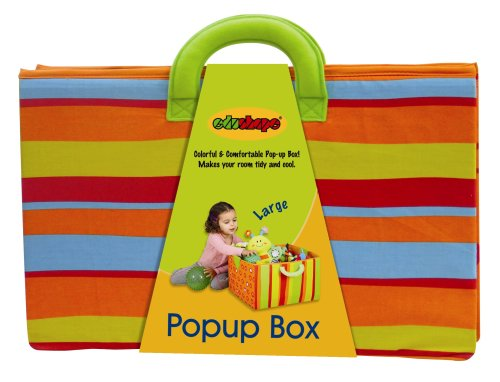 Read About Edushape Large Pop-Up Fabric Toy Box