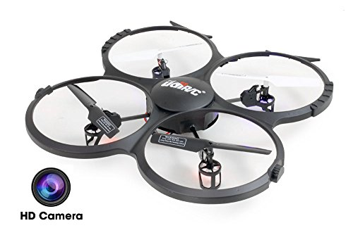 UDI-U818A-HD-24GHz-4-CH-6-AXIS-Headless-RC-Quadcopter-w-HD-Camera-Extra-Battery-and-Return-Home-Function-by-UDI-RC