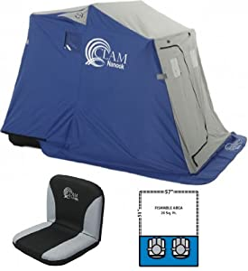 Clam 9025 Nanook Two Man Padded Seat by Clam