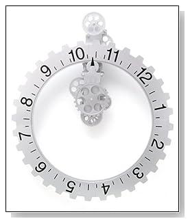 Big Wheel Revolving Wall Clock