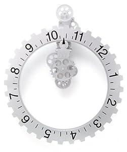 Kikkerland Big Wheel Revolving Wall Clock