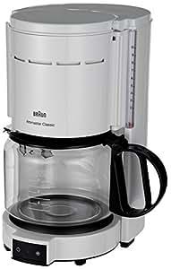 4 Cup Coffee Maker Braun : Amazon.com: Braun KF47 WH Braun KF47 White 10-Cup Coffee Maker, 220V (Non-USA Compliant), White ...