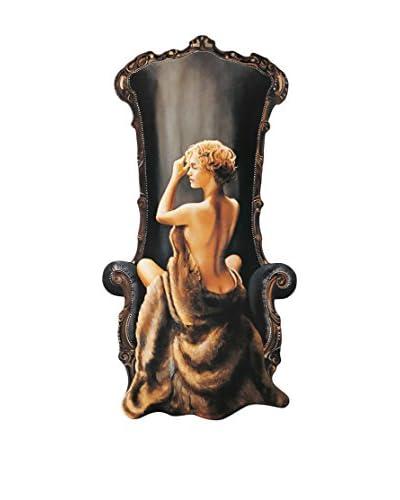 ArtopWeb Panel Decorativo Di Scenza Seated Beauty