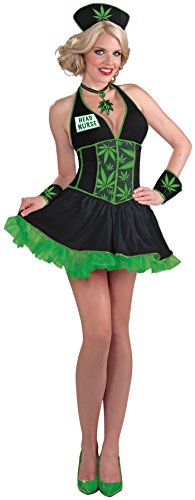 Forum Novelties Women's Head Nurse Cannabis Costume