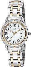 [エルメス]HERMES 腕時計 クリッパー ホワイトパール文字盤 K18RG/ステンレス クロノグラフ CP1.321.212.4967 レディース 【並行輸入品】