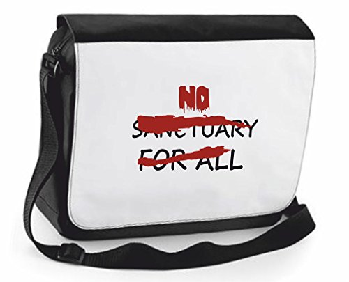 no-sanctuary-for-all-sign-crossed-out-parody-zombie-shoulder-messenger-bag-case-cover-handbag-crossb