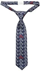 Andy & Evan Baby Boys' Blue Bicycle Tie, Navy, 0-24 Months