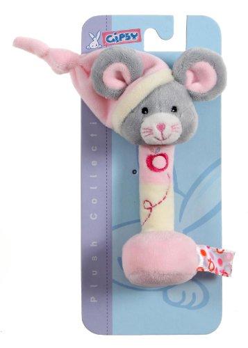 """Gipsy 070157 - Serie """"Pomme"""", Trillino topo da 17 cm, colore: Rosa"""