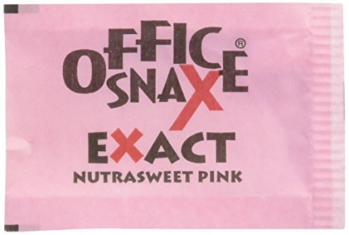 office-snax-ofx00061-exact-nutrasweet-pink-sweetener-individual-packets-pack-of-2000