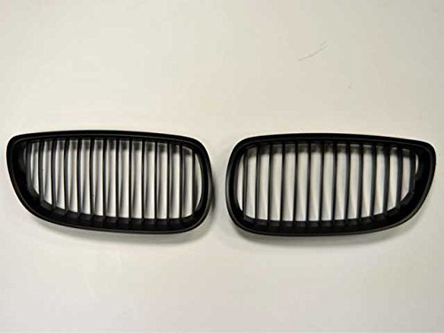 BMW E90E92E93M3Limo Limousine Coupe Cabriolet Nieren Grill Gitter matt schwarz