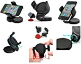 Guilty Gadgets - 360 Rotating Compact Car Holder For Sony Ericsson Aspen, Cedar, Hazel, Mix Walkman, Spiro, txt, Txt Pro