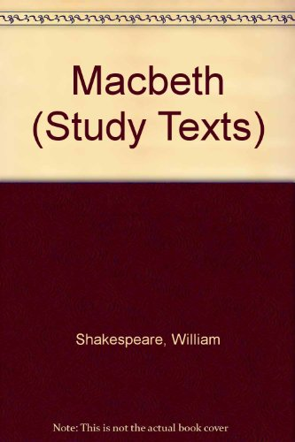 Macbeth (Study Texts)