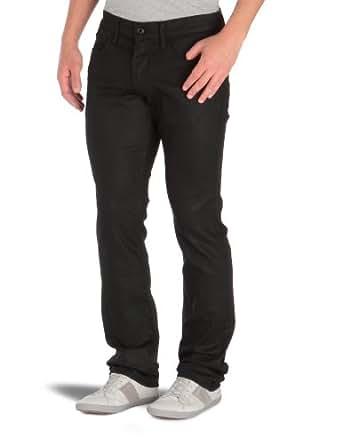 Japan Rags - Jea H 702 Basic - Jeans slim - Homme - Black - Noir -30/34
