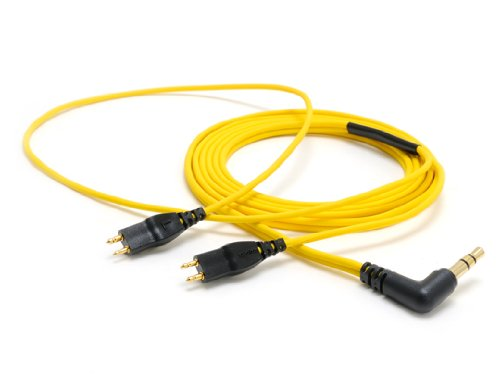 Oyaide Hpc-Hd25 Sennheiser Yellow Upgrade Replacement Cable For Hd650 Hd25
