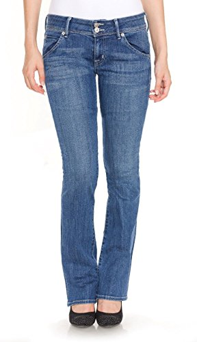 Hudson Women's Beth Baby Boot Flap Jeans in Glad Wash