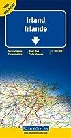 Irlande - Carte routière et touristique (échelle : 1/300 000)