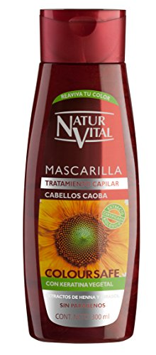 Naturaleza y Vida Maschera Colore Mogano - 300 ml