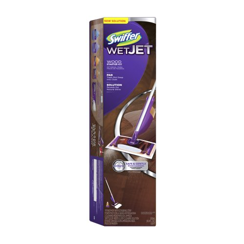 Swiffer Wetjet Wood Starter Kit (Swiffer Wetjet Starter compare prices)