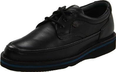 Hush Puppies Men's Mall Walker Oxford,Black Leather,6 M US