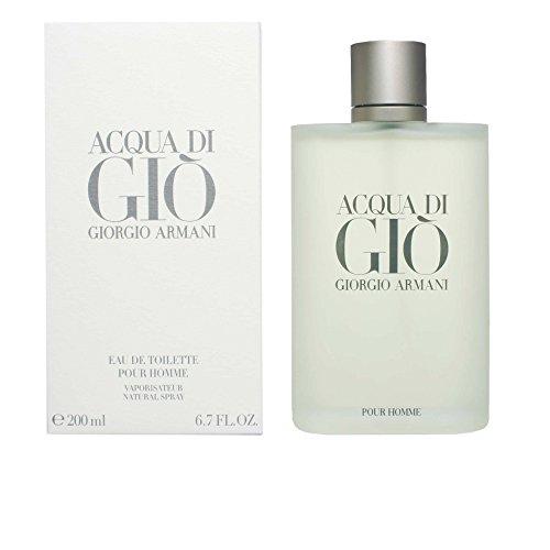 Giorgio Armani Acqua di Gio Homme Eau de Toilette, Uomo, 200 ml
