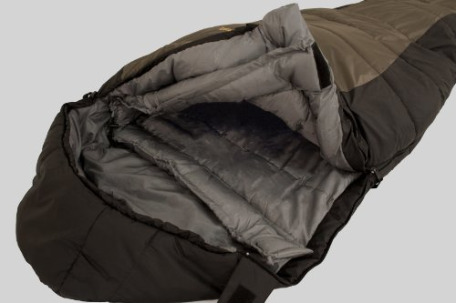 Browning Camping Yellowstone 20-Degree Nylon Ripstop Mummy Sleeping Bag (Regular, 34 x 80-Inch)
