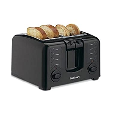 Cuisinart CPT-140BK Electronic Cool Touch 4 Slice Toaster, Black by Cuisinart