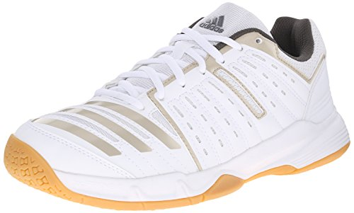 adidas Performance Women's Essence 12 W Volleyball Shoe, White/Grey/Grey, 9 M US