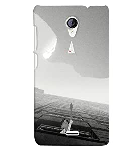 Citydreamz Back Cover For Micromax Canvas Spark Q380 