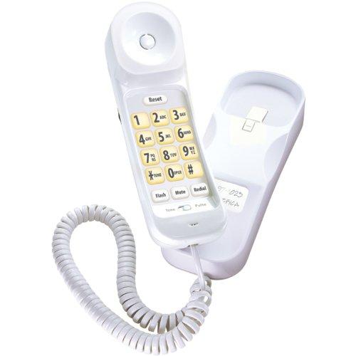Uniden CEZ202 Modern Big Button Design Slimline Corded Phone