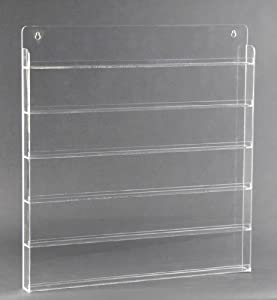 Amazon.com - 108 BOTTLE NAIL POLISH WALL RACK - ACRYLIC (A108