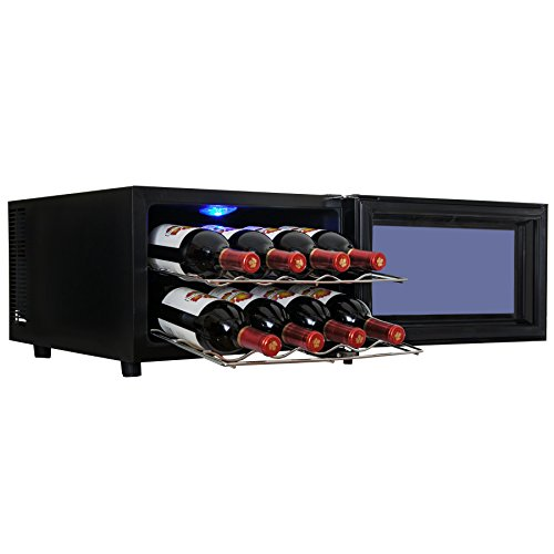 AKDY® 8 Bottle Single Zone Thermoelectric Counter Top Freestanding Wine Cooler Cellar Chiller Refrigerator Fridge Quiet Operation (Wine Fridge Parts compare prices)