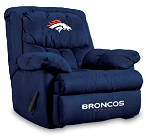 NFL Denver Broncos Home Team Microfiber Recliner by Imperial