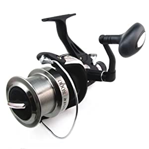 6 Stainless Steel Ball Bearings Extra Large Surf Cast Saltwater Fishing Reel Bait Runner by C