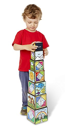 Melissa-Doug-Days-of-Creation-Stacking-and-Nesting-Blocks-With-Convenient-Rope-Handled-Storage-Box-7-Blocks-Stack-to-Almost-25-Feet-Tall
