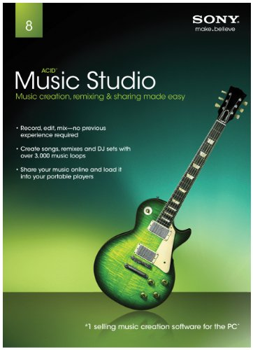 Sony Creative Software ACID Music Studio 8.0 - 2011 [Old Version] (Computer Mixing Software compare prices)