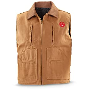 Ruger Concealment Vest Brown Duck, 3XL