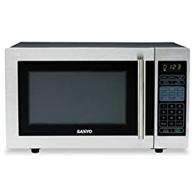 Countertop Microwave Oven - 1.0 cu.ft. Capacity 1, 000 Watt, Stainless Steel/Black(sold individuall)