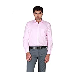 GIVO Classic Pink Solid Formal Shirt
