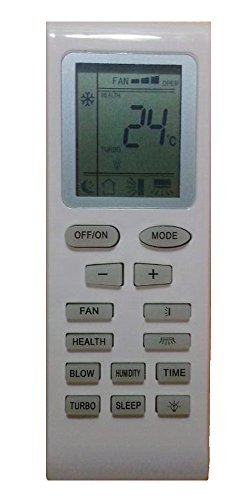 Generic Replacement Air Conditioner Remote Control For Gree Lennox