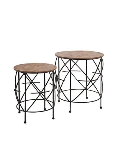 Set of 2 Oliver Tables