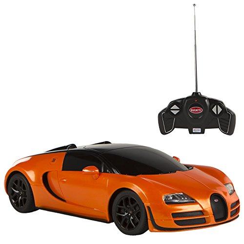 rastar-bugatti-veyron-gran-sport-vitesse-coche-teledirigido-escala-118-naranja-colorbaby-75893