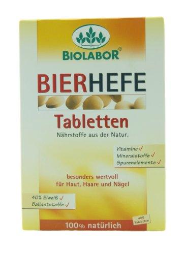 biolabor bierhefe tabletten 400st. Black Bedroom Furniture Sets. Home Design Ideas