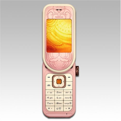 Nokia - 7373 - Powder Pink - Sim Free Mobile Phone  Unlocked