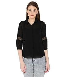 Fashion Tadka West Black Shirts For Women