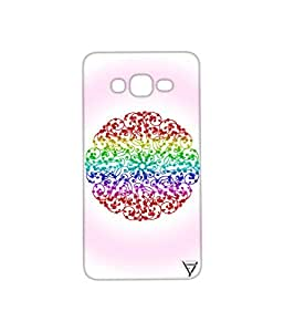 Vogueshell Round Pattern Printed Symmetry PRO Series Hard Back Case for Samsung Galaxy On7